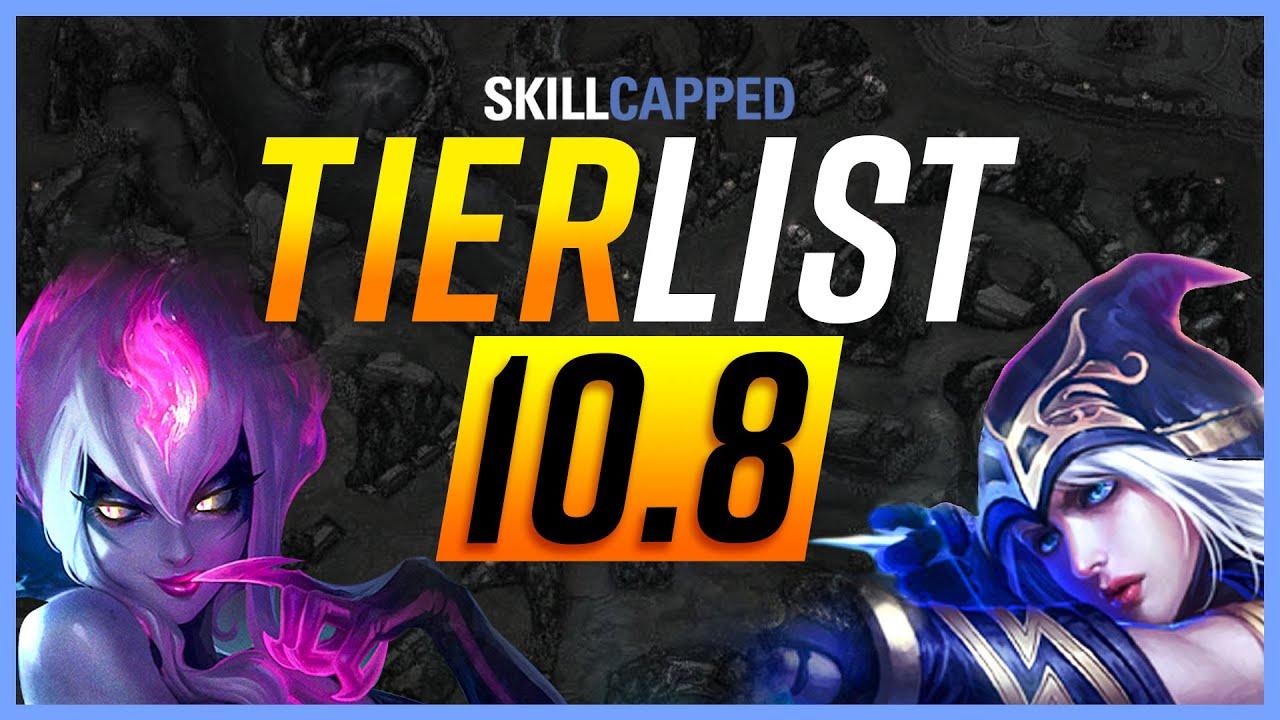 NEW Patch 10.8 TIER LIST - League of Legends Guide thumbnail