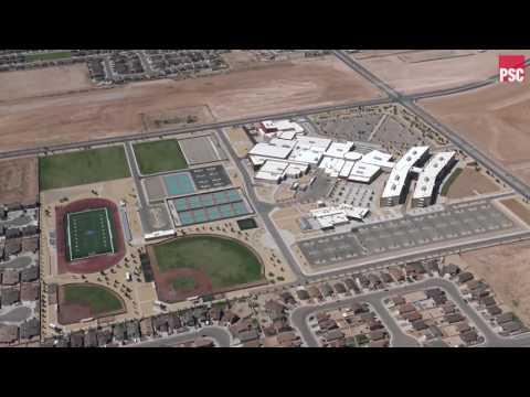 Aerial Video - El Paso Socorro Pebble Hills High School