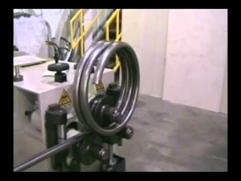Carell 303hv Angle Roll Rolling A Tube Coil Youtube