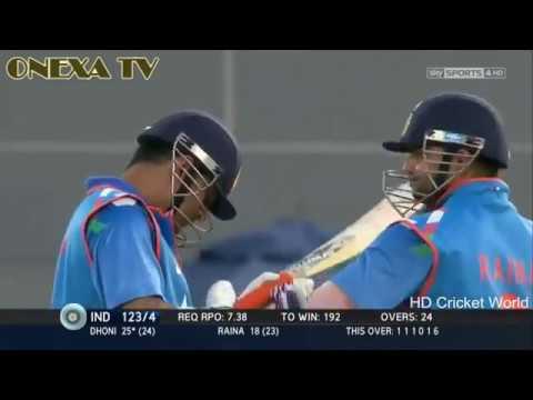 MS dhoni hitting longest six ever. Must...