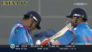MS dhoni hitting longest six ever. Must Watch.