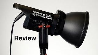 Aputure Light Storm COB 120t LED Light Review
