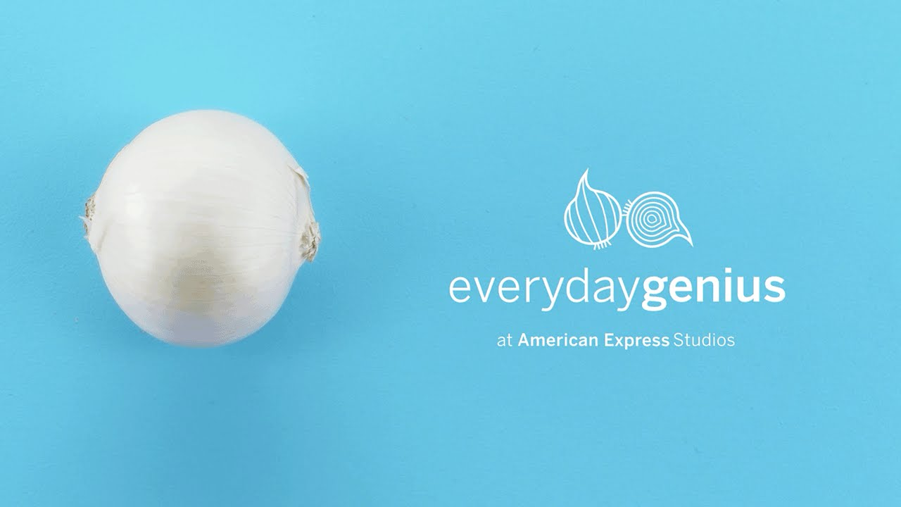 How to Cut An Onion Without Crying | Everyday Genius with Kari Byron