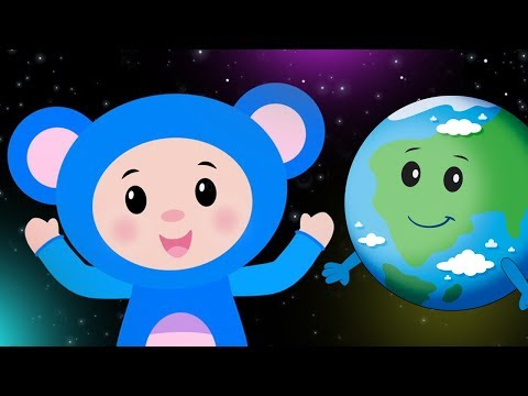 Eight Planets | WORLD SPACE WEEK RHYMES | Mother Goose Club Kid Songs and Baby Songs