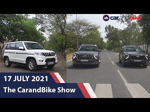 The carandbike Show - Episode 891   Mahindra Bolero Neo Review   Hyundai Creta vs Alcazar Comparison