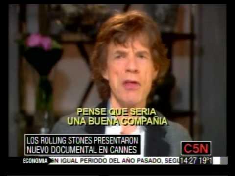 """C5N - PRESENTACION DE """"STONES IN EXILE"""""""