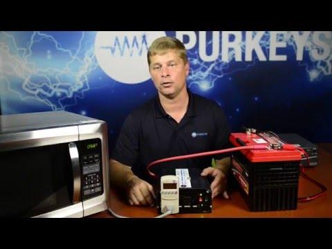 Measuring an Inverter's Output