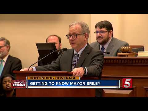 David Briley Sworn In As Mayor