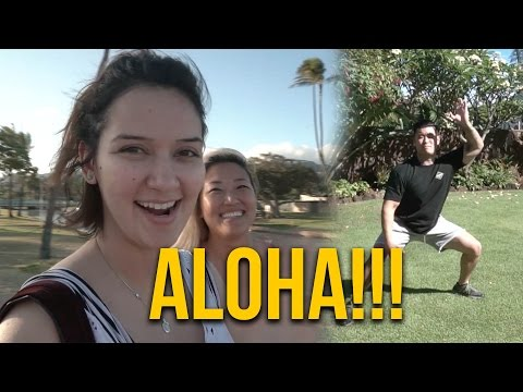 WE'RE IN HAWAII!