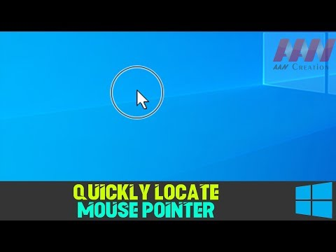 How to Quickly Locate Mouse Pointer on Windows 10