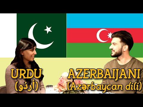 Similarities Between Urdu and Azerbaijani