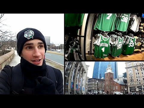 VLOG - USA - Boston : Fenway Park, Freedom Trail, TD Garden.
