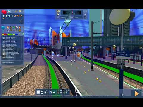 Manchester Oxford Road station announcements for Train simulator |