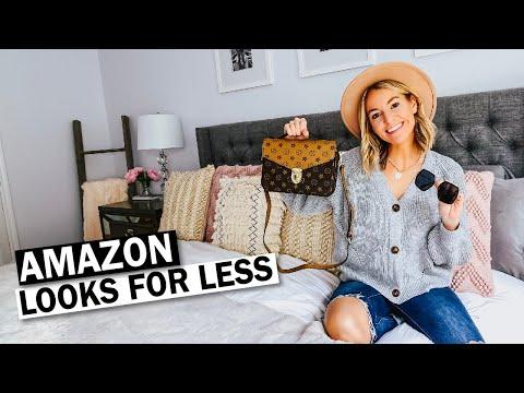 Amazon Designer Dupes   Fall 2019 Amazon Haul