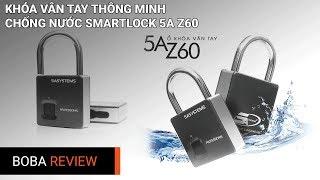 Khóa Vân Tay Thông Minh Chống Nước Cao Cấp SmartLock 5A Z60