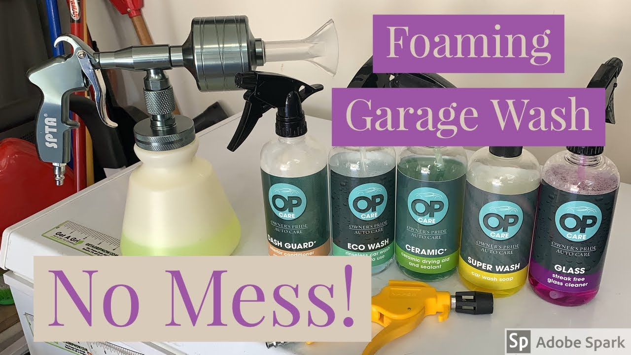 Garage Foaming Car Wash W/Out A Mess (New Tools + Owner's Pride)