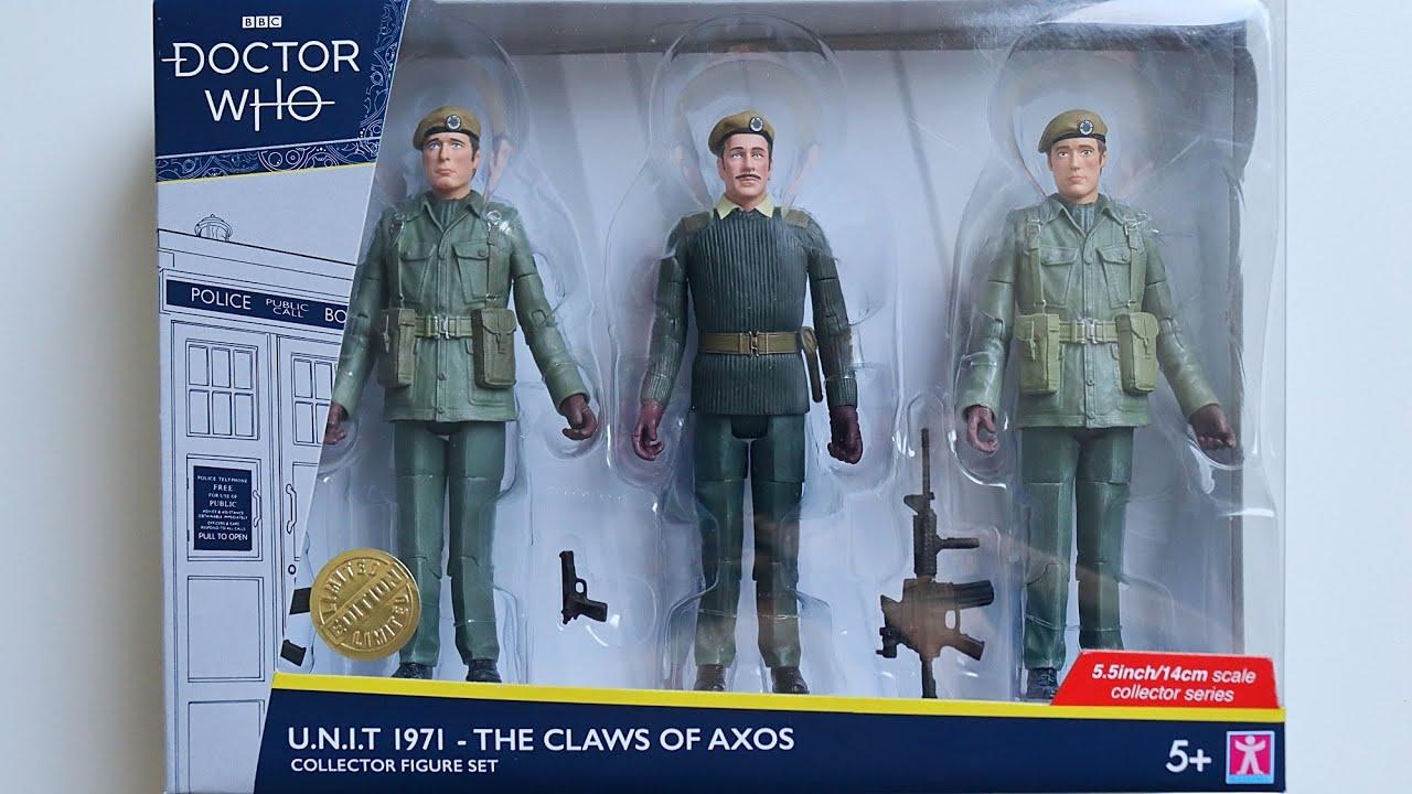 Doctor Who Le capitaine Mike Yates des griffes de Axos figurine b/&m Exclusive