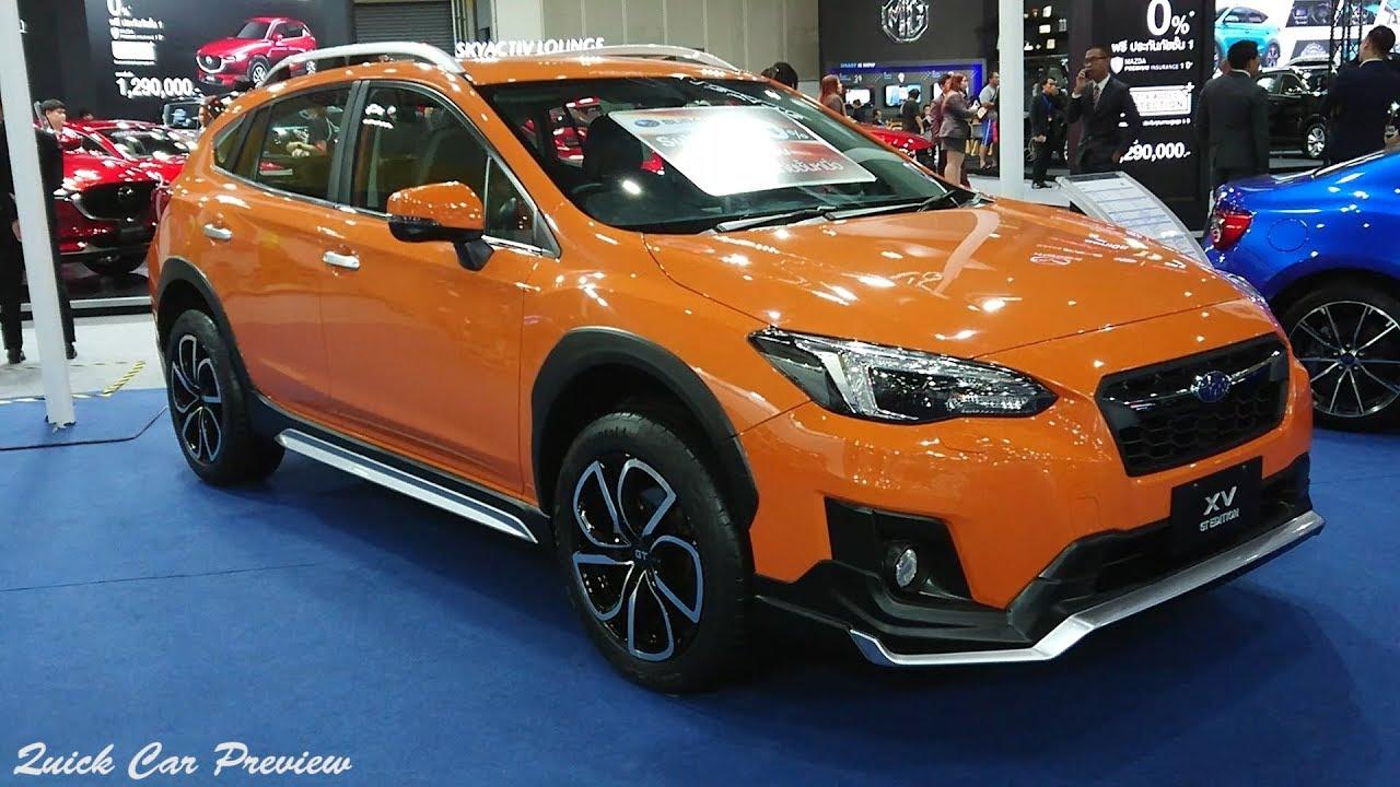 Orange Subaru Crosstrek >> Quick Preview 2020 Subaru Xv Gt Edition 2 0 Awd Sunshine Orange
