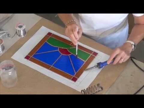 how to make a stained glass window youtube