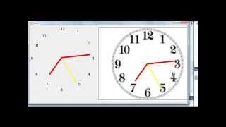 HOW TO CREATE VB 2008-10 ANALOG CLOCKS GRAPHICS BITMAP CODE