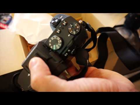 Sony A7 Mark 2 unboxing แกะกล่อง