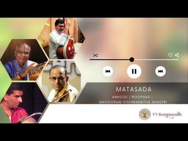 Matasada   T V Ramprasadh