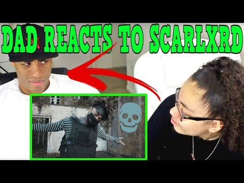 MY DAD REACTS TO SCARLXRD | Parents Reaction