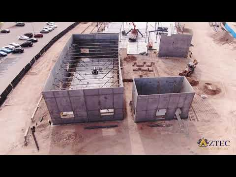 El Paso Community College NW Campus Drone Footage of New Construction