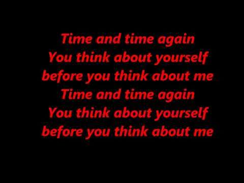 Papa roach Time and time again lyrics