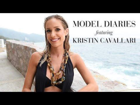 MODEL DIARIES with Modeliste Cover Girl  KRISTIN CAVALLARI