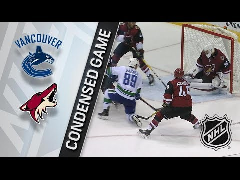 Vancouver Canucks vs Arizona Coyotes – Mar. 11, 2018 | Game Highlights | NHL 2017/18. Обзор