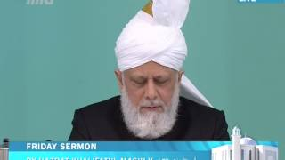 Freitagsansprache 8. Mai 2015: Khalifatul Masih II - Perlen der Weisheit