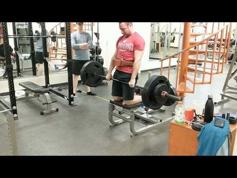 Hold Onto Your Butts! 265 Lbs JJ Deadlift