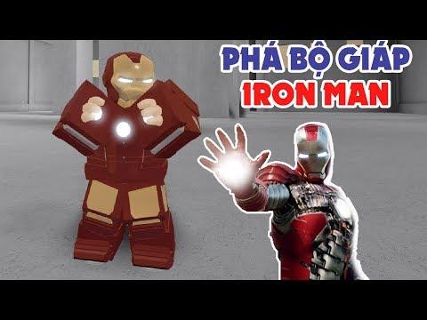 Roblox | Thử Thách Phá Bộ Giáp Của Iron Man | MinhMaMa thumbnail