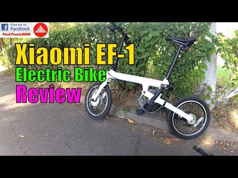 Xiaomi EF-1 Electric Bike - Full Review