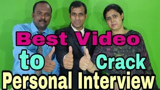 How to crack Personal Interview Video Lesson for Freshers || HR Questions & answers Campus Placement