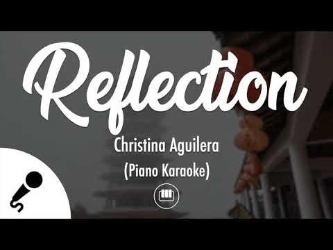 Reflection (2020) - Christina Aguilera (Piano Karaoke)