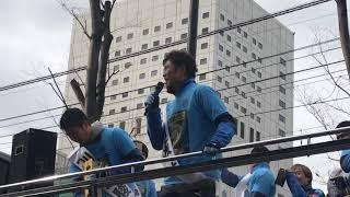 2018川崎フロンターレ優勝パレードでの田坂選手のスピーチです。