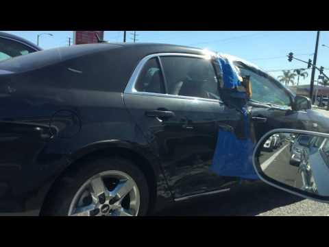 Ghetto body work! Car repair hood rat style!