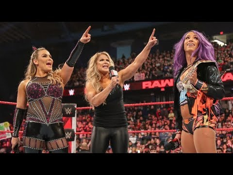 [Vietsub] WWE Beth Phoenix Tuyên Bố Trở Lại Sàn đấu Tại WrestleMania  Raw, March 18, 2019