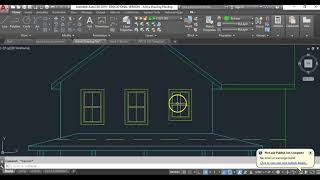 Windows in Elevation in AutoCad