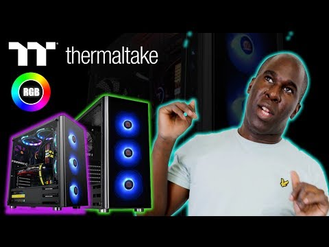 Thermaltake V200 Tempered Glass RGB Edition Mid Tower Case