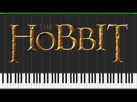 The Misty Mountains Cold - The Hobbit [Piano Tutorial] (Synthesia) // Popular Piano Improv