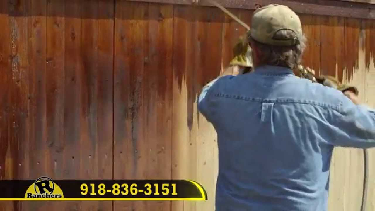 Ranchers Fence Stains & Paints