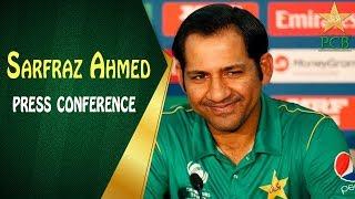 Sarfaraz Ahmed press conference ahead of T20 I Series against Scotland