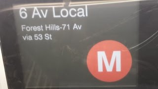 On Board Forest Hills Bound R160 (M) Train From Court Square-23rd Street to Forest Hills 71st Avenue