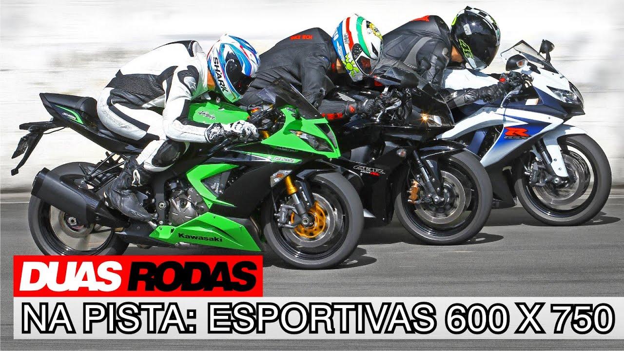 Comparativo Kawasaki Ninja 636 X Honda Cbr 600rr X Suzuki