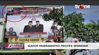 Gatot Nurmantyo Protes Spanduk Yang Memuat Dirinya di Baliho BPN Prabowo-Sandi