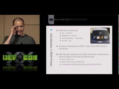 DEFCON 20: NFC Hacking The Easy Way