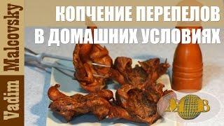 Рецепт копчение перепелов в домашних условиях. Мальковский Вадим
